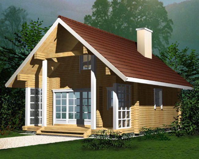 Дом из бруса-19