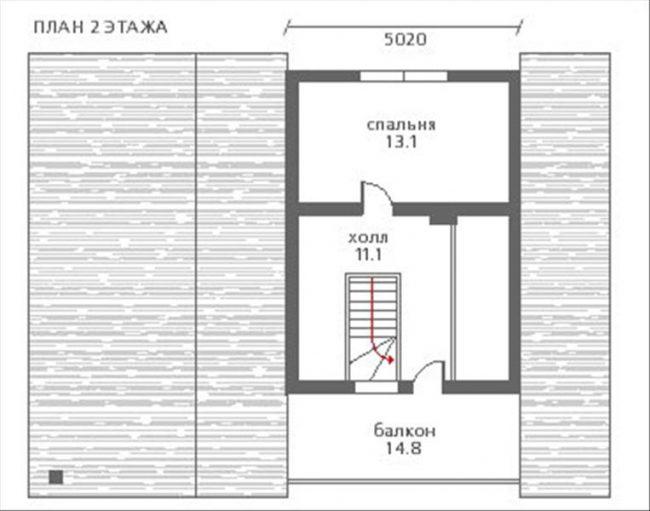 Дом из бруса-122