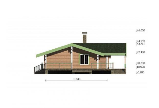 Дом из бруса-257