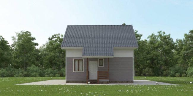 Дом из бруса-93