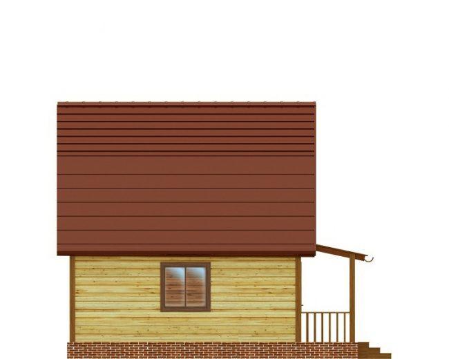 Дом из бруса-57