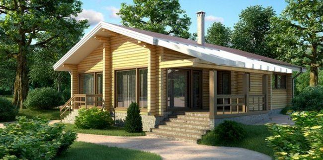 Дом из бруса-275