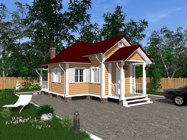 Дом из бруса-156