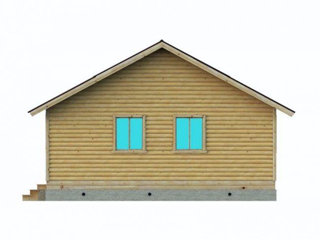 Дом из бруса-164