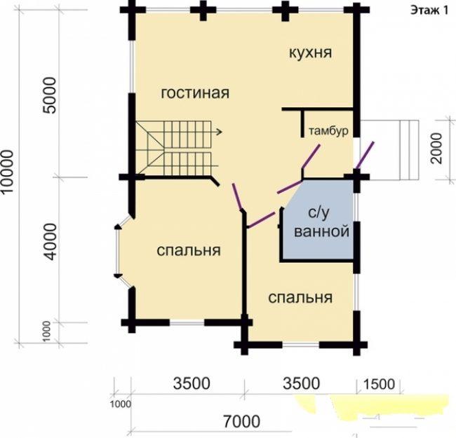Дом из бруса-116