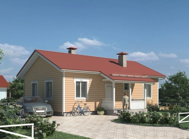 Дом из бруса-233