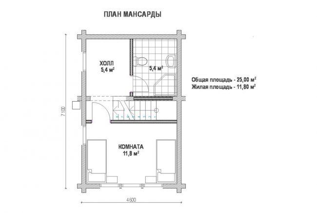 Дом из бруса-174