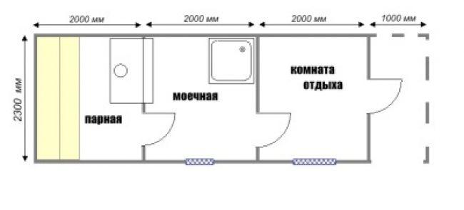 Сруб бани-32