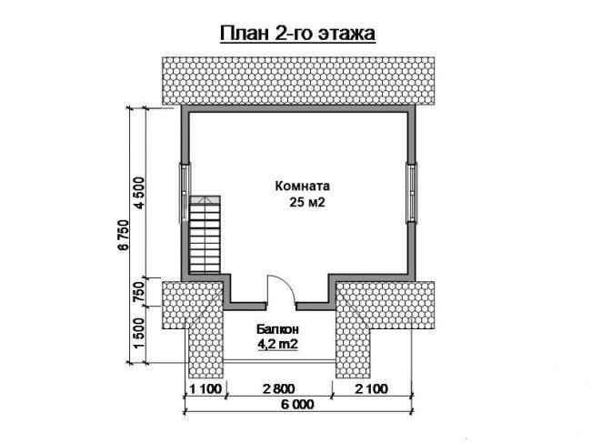 Дом из бревна-35