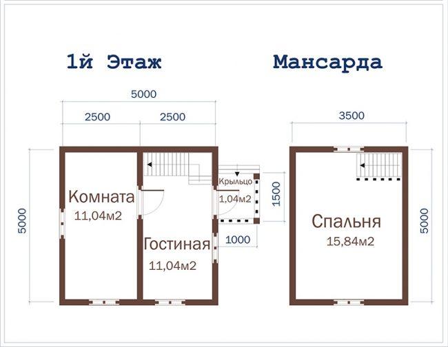 Дом из бруса-7