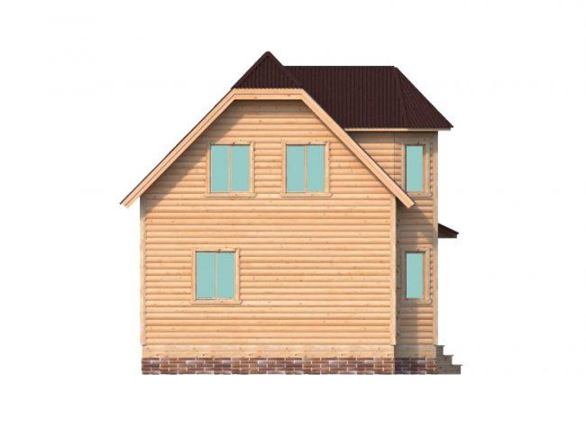 Дом из бруса-77