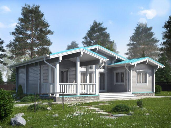 Дом из бруса-292