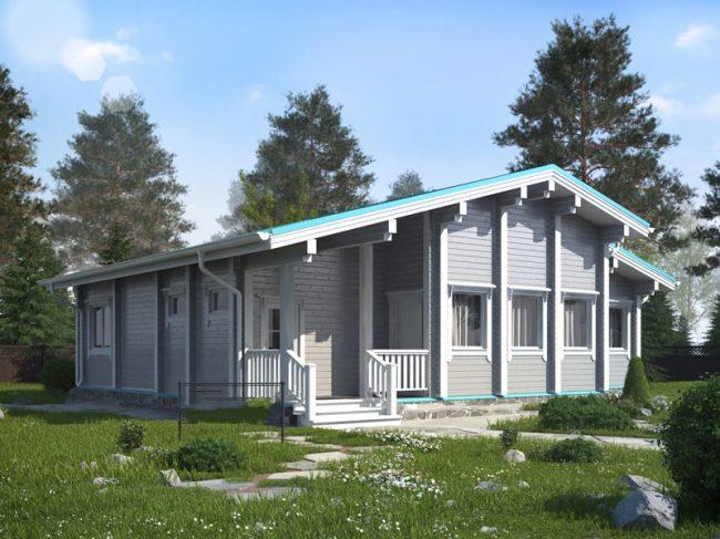Дом из бруса-283