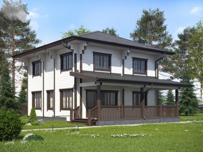 Дом из бруса-179
