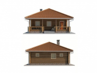 Дом из бревна-68