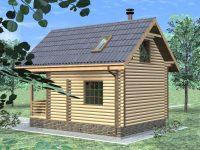 Дом из бревна-18