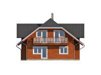 Дом из бруса-160