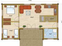 Дом из бруса-119