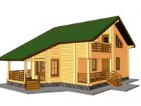 Дом из бруса-169