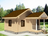 Дом из бревна-10