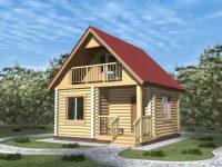Дом из бревна-39