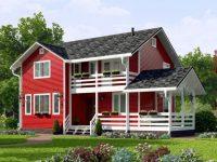 Дом из бруса-151