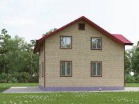 Дом из бруса-134