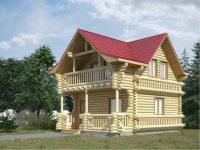 Дом из бревна-20