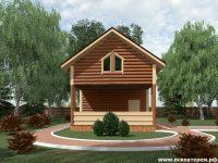 Дом из бревна-61