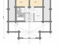 Дом из бревна-167