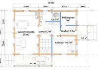 Дом из бруса-209