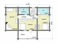 Дом из бревна-151