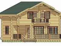 Дом из бревна-164