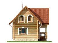 Дом из бревна-17