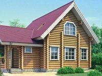 Дом из бревна-160