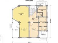 Дом из бруса-220