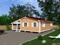 Дом из бруса-225