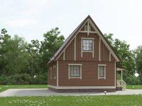 Дом из бруса-67