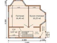 Дом из бруса-55