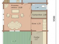 Дом из бруса-117