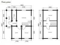 Дом из бревна-29