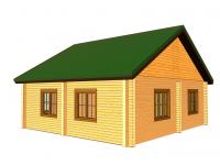 Дом из бруса-146