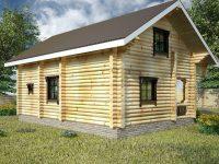 Дом из бревна-30