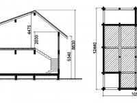 Дом из бруса-239