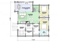 Дом из бруса-268