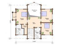 Дом из бруса-285
