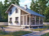 Дом из бруса-103