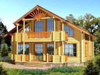 Дом из бревна-156