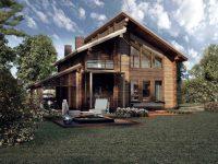 Дом из бруса-210