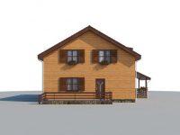 Дом из бруса-229